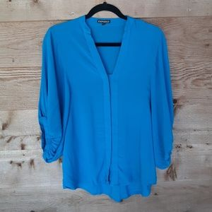 Express Top with Balloon Sleeves